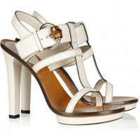 Gucci Bamboo-detailed leather sandals