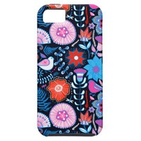 Cute Bright Summer Floral Pattern iPhone 5 Cover