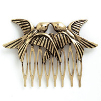 ModCloth Critters So in Love Hair Comb