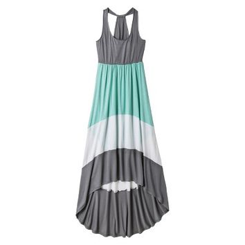 Mossimo Supply Co. Junior's Colorblock Racer Maxi Dress - Assorted Colors