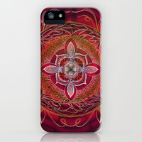 Root Chakra iPhone & iPod Case by brenda erickson