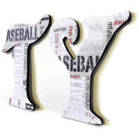 Custom Baseball Name Letters by HookUUpCustomCrafts on Etsy