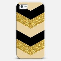 Gold Glitz iPhone 5 case by JJ Designs | Casetagram