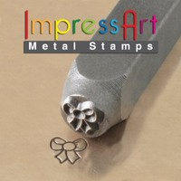 ImpressArt, Metal Jewelry Design Stamp, Ribbon, 6mm