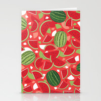 Watermelon Stationery Cards by Ornaart
