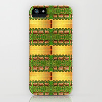 Electronic circuit pattern iPhone & iPod Case by Danflcreativo