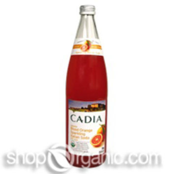 Cadia - Organic Blood Orange Italian Soda, 25.4 oz