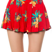 The Rumors Skort in Red