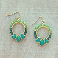 Aqua Mist Earrings