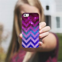 PARTY CHEVRON PURPLE iPhone 5s case by Monika Strigel | Casetagram