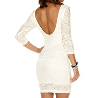 Lace Bodycon