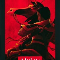Mulan : 11 x 17 inches (28cm x 44cm) : movie poster : Disney (B)