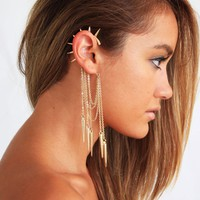 SPIKED EAR CUFF