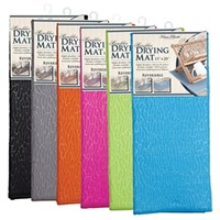 Microfiber Drying Mat Dishes Dry Dish Ware College Dorm Living Wash And Dry