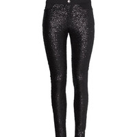 Sequined Treggings