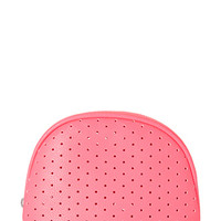 Perforated Midsize Cosmetic Bag