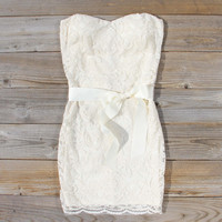 Arizona Lace Dress in Sand