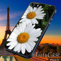 Daisy Flower - Samsung Galaxy S2/S3/S4,iPhone 4/4S,iPhone 5/5S,iPhone 5C,Rubber Case,Cell Phone,Case,Accessories - 251013/CA4