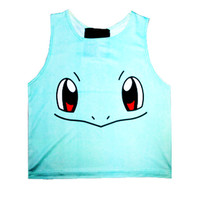 SQUIRTLE CROP TANK - PREORDER