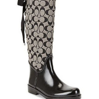 Tristee Rainboot, Black/White