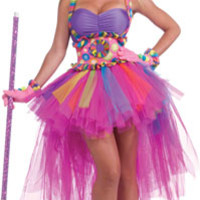 Tutu Lulu The Clown Costume - Adult Costumes