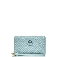 MARION QUILTED SMARTPHONE WRISTLET