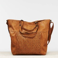 AEO PERFORATED TOTE BAG