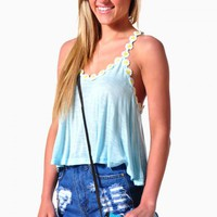 Daisy Duke Crop Top