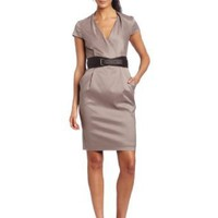 Suzi Chin Women's Belted Dress