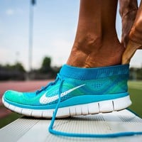Nike Free Flyknit Women's Running Shoes Sneakers