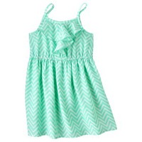 Cherokee® Infant Toddler Girls' Sleeveless Chevron Empire Dress