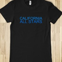 CALIFORNIA ALL STARS JUNIORS FITTED TEE