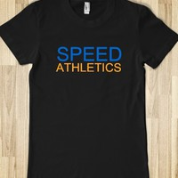 SPEED ATHLETICS JUNIORS FITTED TEE