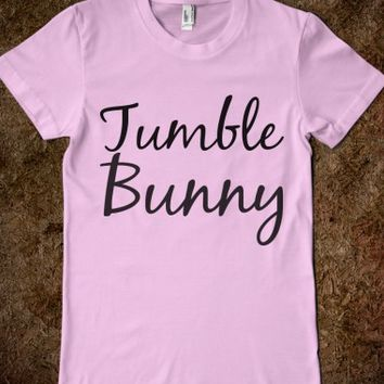 TUMBLE BUNNY JUNIORS FITTED TEE