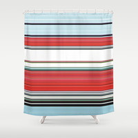 Classic Chrome. Shower Curtain by John Medbury (LAZY J Studios)