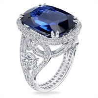 Devotion Sapphire 16.45cts Ring