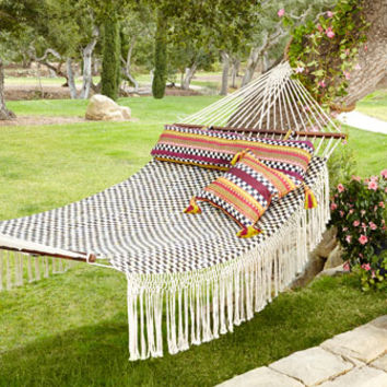 MacKenzie-Childs Courtly Check Hammock