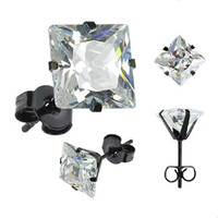 The Square Stud Earring