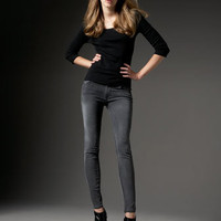 James Jeans - Twiggy Leggings, Slate - Bergdorf Goodman