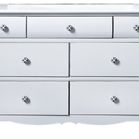 Gabriella Winter White Dresser