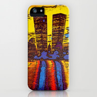 NY iPhone & iPod Case by SensualPatterns