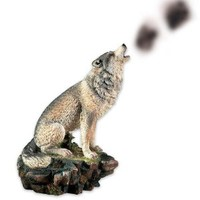 Howling Wolf Incense Burner