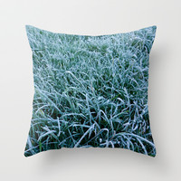 Frosty Morning Throw Pillow by Alice Gosling