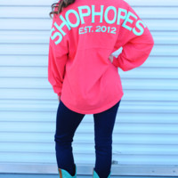 RESTOCK: Shop Hope's Spirit Jersey: Coral