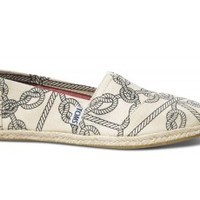 Natural Rope Print Women's Classics