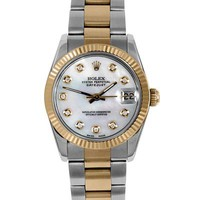 Rolex Datejust #9827 Series Watch, 8/10 Condition