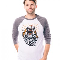 Live Loud Baseball Raglan
