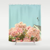 A simple kind of life Shower Curtain by RichCaspian