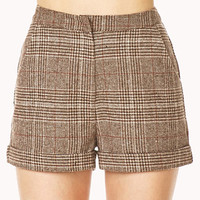 Crisp Plaid Shorts