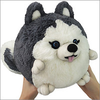 Mini Squishable Husky: An Adorable Fuzzy Plush to Snurfle and Squeeze!